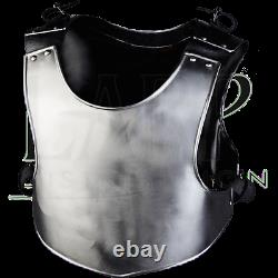 18GA Steel Medieval Armor Cuirass/Breastplate Gothic Chest Plate Costume BR96