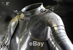 Armor Costume Collectible Medieval Knight Reenactment & Reproduction Breastplate