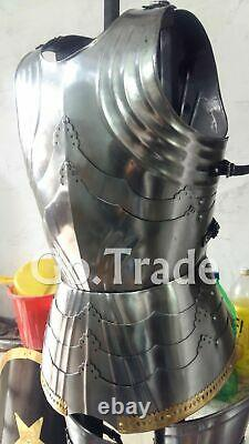 Armour Muscle Jacket Costume Breastplate Roman Medieval Cuirass New Jacket Larp