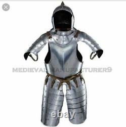 Fully Wearable Beautiful Half Suit of Armor knight Medieval Half Suit