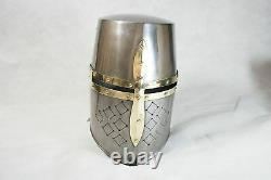 Knights Templar Suit Of Armour Medieval Roman Armor Statue Full Size 6 Feet