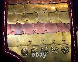 Medieval Ancient Armour Greek Body Armour Aristotles Leather Cuirass