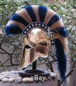 Medieval Ancient Costume Armour Roman Greek Corinthian Helmet War Costume Gift