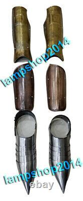 Medieval Armor Leg Guard & Arm Guard With Shoes Halloween Costume