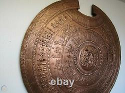 Medieval Battle Knight Royal Alexander the Great Round Shield