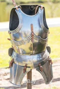 Medieval Collectibles Steel Armor Jacket Renaissance Armour Wearable Breastplate