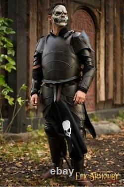 Medieval Full Body Undead Armour Full Suit Larp Cosplay Costume Reenactment