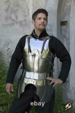 Medieval Gothic Half Body Armour Knight Cuirass Cosplay Gothic Breastplate