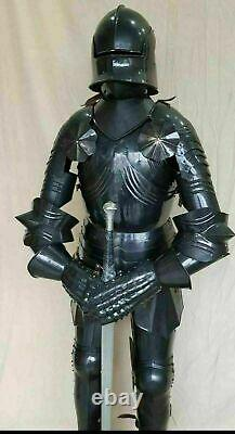 Medieval Gothic Knight Suit Of Armor Combat Full Body Armour Halloween Wearable