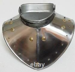 Medieval Iron Gorget Set -Adult Roman Knight Greek Gothic Steel Plate Armour Set
