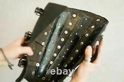 Medieval Knight Armour Splinted Leather Greaves Armour Protection