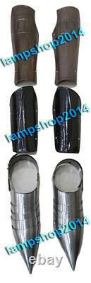 Medieval Knight Leg Guard & Arm Guard With Shoes Set Armor Costume