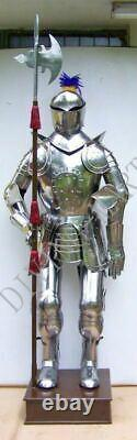 Medieval Knight Wearable Suit Of Armor Crusader Combat Full Body Armour AR38