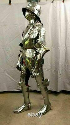 Medieval Larp Gothic Full Body Suit Of Armor Battle Knight Reenactment Armour