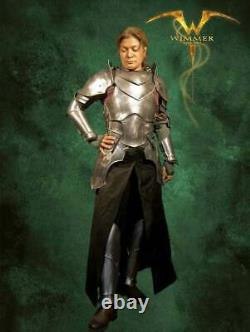 Medieval Metal Armor for LARP-Very movable complete steel armor for women