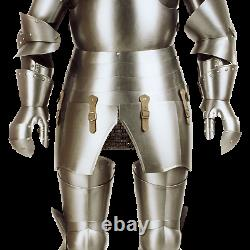 Medieval Milanese Knight Full Suit of Armor