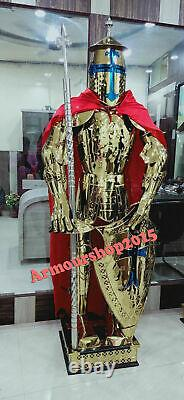 Medieval Renaissance Suit of Armor Combat Full Body Wearable Costume