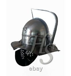 Medieval Roman Gladiator Helmet Role-play for protective armour ancient for gift