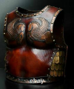 Medieval Roman Muscle Cuirass Gladiator Breastplate Chest & Back