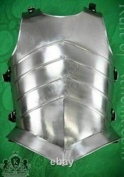 Medieval Templar Suit Of Knight Armor Solid Steel Chest Plate Jacket Reenactment