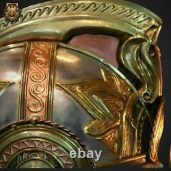 Medieval Theoden LOTR Rohan Helmet Knight Helmet with Stand