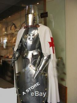 Medieval Wearable Knight Crusader Collectible Armour Costume Full Suit Of Armor