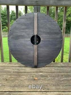 Medieval Wooden Shield Viking Shield Romans Replica Armour Wooden Shield 24'