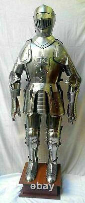 Medieval suit of armor 17th century combat full body wearable full body armour