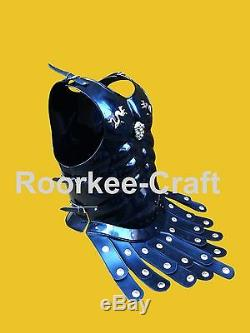 ROMAN Armor Breastplate Muscle Body ArmoR HM970, Medieval Armor Chest