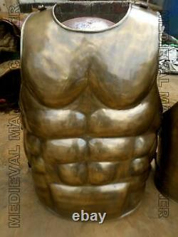 Roman Muscle Jacket Sca Larp Armour Jacket Medieval Cuirass Chest Costume Steel