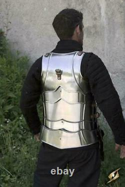 Medieval Gothique Demi-corps Armour Knight Cuirass Cosplay Gothic Breastplate