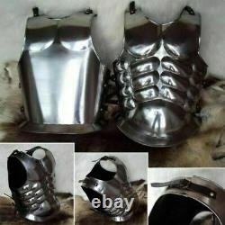 Medieval Muscle Body Armour Curiass Chest Plate Armor Iron Steel Breastplate