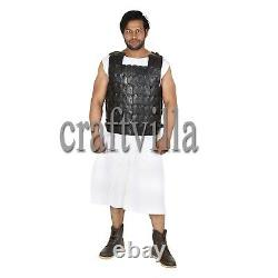 Medieval Viking Leather Cuirass/breastplate Body Armour Larp Armor Jacket Costum