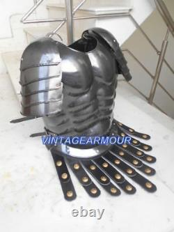 Roman Muscle Armour Jacket Medieval Spartan Cuirass Movie Gift Costume