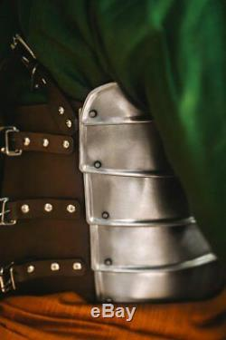 Steel Armor Medieval Larp Second Age Elfes Armure Complète Costume Cosplay Halloween