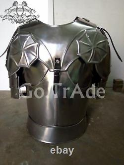 Veste Muscles Breastplate Solid Steel Medieval Armor Cadeau Collectible Halloween